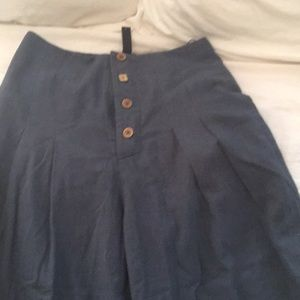Continuum for Anthropologie wide legged pants